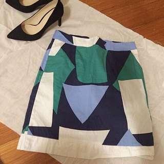 🚚 Room4色塊裙