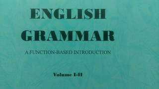 English Grammar: A Function-based Introduction Volume I-II (影印本)