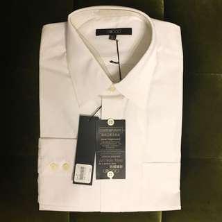 G2000防皺襯衫(白)