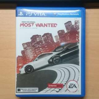 PSV 極速快感:新全民公敵 NEED FOR SPEED:MOST WANTED