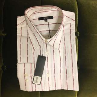 G2000襯衫(白底條紋)