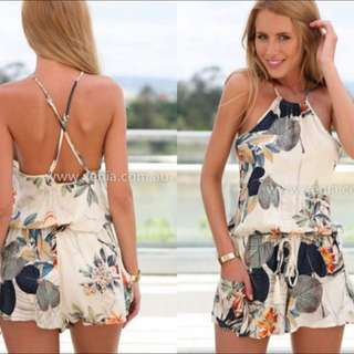 Xenia Boutique (Australia) Fall Playsuit