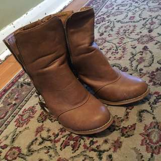 Brown Boot Heels