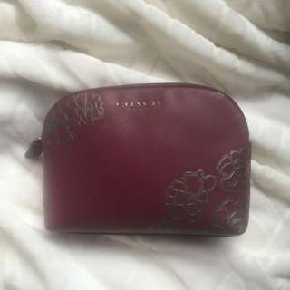 *Coach Makeup Bag