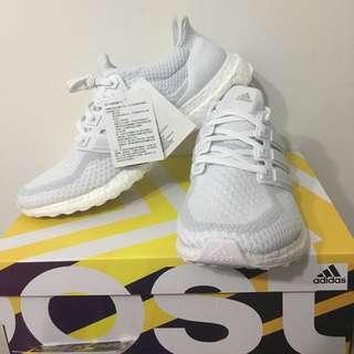 全新品 Adidas ultra boost 全白經典色 馬牌輪胎底2.0 台灣公司貨 Us9.5 Aq5929