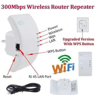 WIFI EXTENDER ETHERNET PORT REPEATER BOOST WIFI