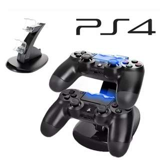 PS4 DUAL CHARGER DOCKING STATION LED