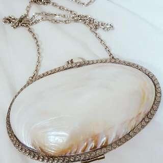 Handmade Seashell Pearl Purse