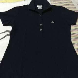 Lacoste 5 button polo shirt