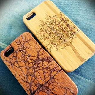 Iphone 5/5s Wood Cases Two For 5!!