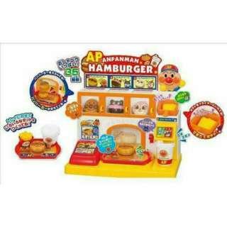全新日本麵包超人漢堡店 賠售出清