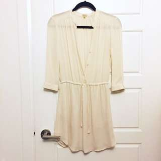 Aritzia Babaton Silk Dress