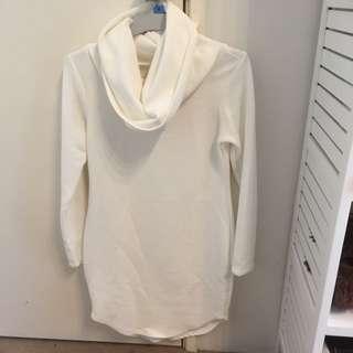 White Comfortable Dress
