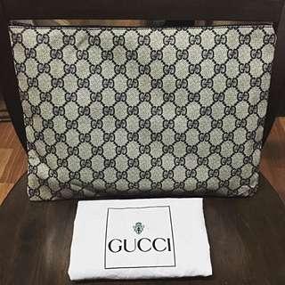 Authentic Vintage Gucci Monogram Clutch