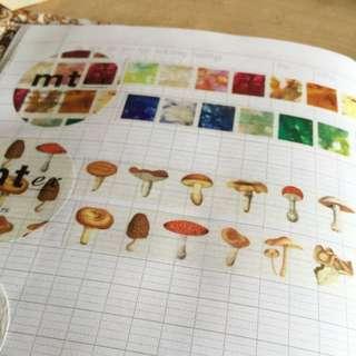 Mt 蘑菇 紙膠帶分裝