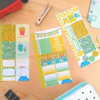 Planning and Journaling Stickers |  Friendship