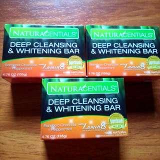 Naturacentials Deep Cleansing & Whitening Bar