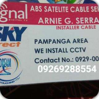 Cignal Digital Cable/ Sky Direct / Dream cable