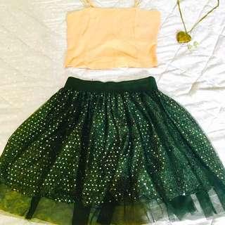 Sequined Tutu Skirt