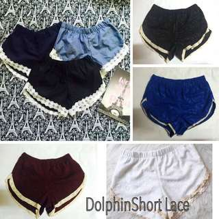Dolphin short lace