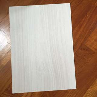 Textured Board Hard Wood Style