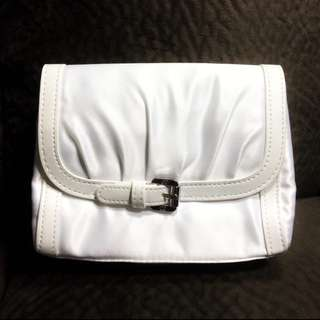 Dior Makeup / Cosmetic Bag (white)