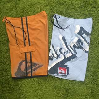 Quiksilver Boardshorts (2 for $25)
