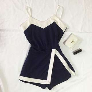 Navy Blue Jumpsuit