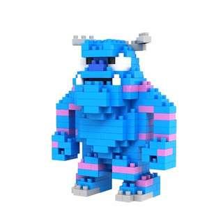 Monster Inc Sulley LOZ Nanoblock