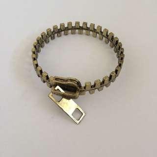 Chicwish Zip Inspired Bracelet
