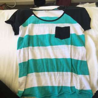 Empyre Striped Tee Shirt
