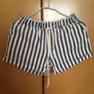 條紋短褲▪️▫️