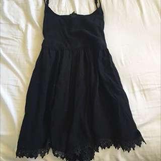 Black Crochet Jem Romper