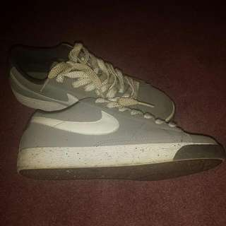 Grey And White NIKE