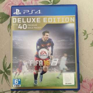 PS4 FIFA16 Deluxe Edition