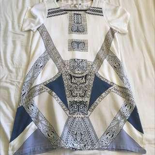 Stussy Tshirt Pattern Dress
