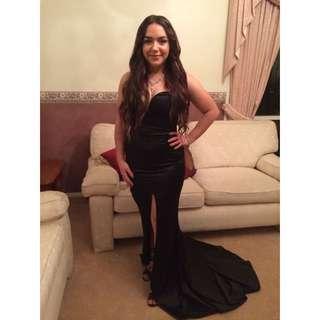 Black Maxi Formal Ddess