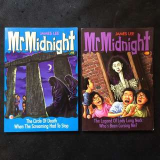 Stacks Of 2 Mr Midnight Books