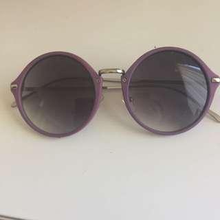 Purple glasses 💜