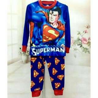 (Nett Price) Superman Sleepwear