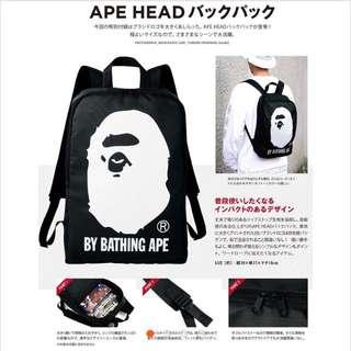 日本雜誌款包 黑人頭後背包 日本