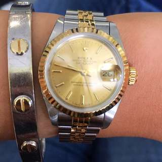 Pre Owned Rolex Lady Datejust