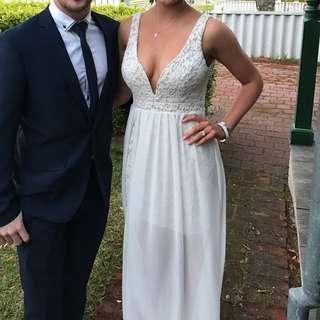 Size S White Dress