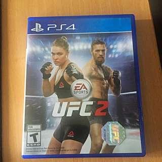 PS4 UFC2 Game