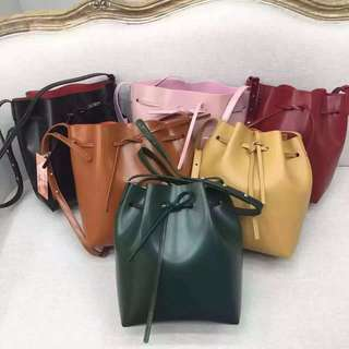 Genuine Mansur Gavriel Bucket Bag Small