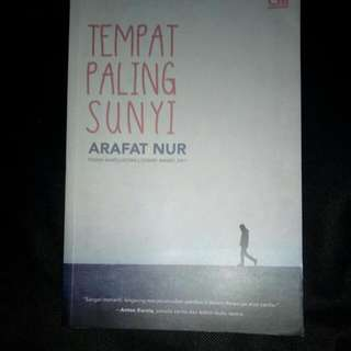 Novel Tempat Paling Sunyi (Preloved)