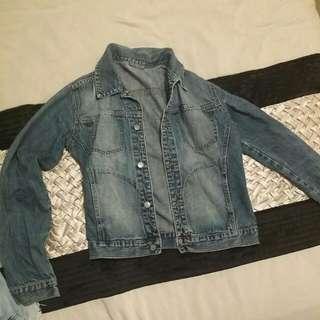 Dark Blue Denim Jacket