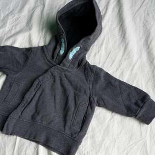 Hooded Jacket for Baby Boy-Newborn(PRELOVED)