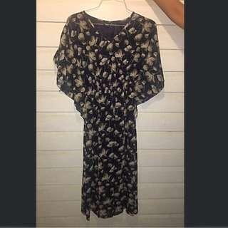 Kaftan Flowy Dress