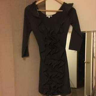 Valley Girl Grey Dress